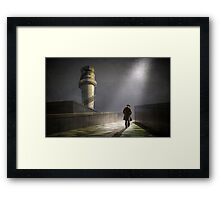 A path to somewhere Framed Print