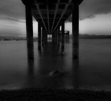 Monochrome Dock by Aconnelly