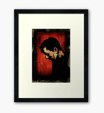 Don't Forget Me Dear Framed Print