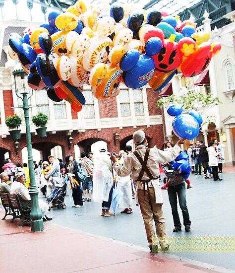 Disneyland by James  Yu
