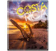 Costa Rica sunrise Photographic Print