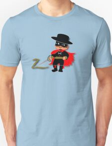 Retro Kid Billy features the legendary Zorro  T-Shirt
