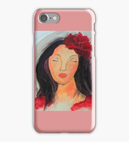 Spanish Rose  iPhone Case/Skin