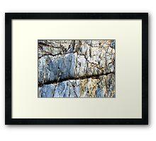 The Goat's Trail Framed Print