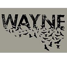 Batty Wayne - Black Photographic Print