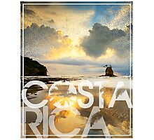 Costa Rica roca bruja Photographic Print