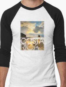 Costa Rica roca bruja Men's Baseball ¾ T-Shirt