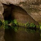 Alcove on the water under the shelter by Alexander Pawlow