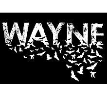 Batty Wayne - White Photographic Print