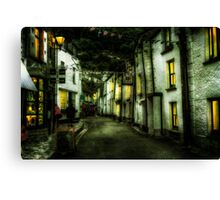 Cornish Street Canvas Print