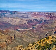 Grand Canyon, From the Watchtower by Bryan D. Spellman