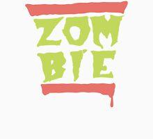 Run Zombies! On Pink/Purple Unisex T-Shirt