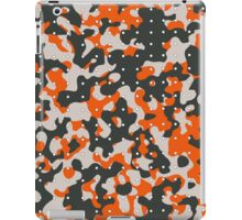 Camouflage with Dots iPad Case/Skin