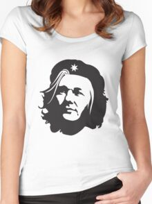 Che Assange Women's Fitted Scoop T-Shirt