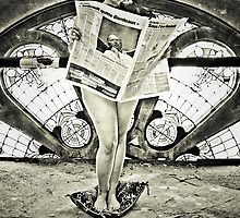 Newspaper by Etienne RUGGERI Artwork eRAW