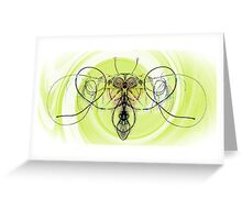 String Bee Greeting Card