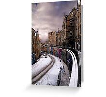 Victoria Street, Edinburgh Greeting Card