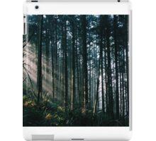Sunlit Trees iPad Case/Skin