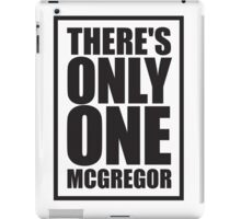 Conor McGregor - Quotes [Only One McGregor] iPad Case/Skin