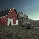 Big Red Barn by AaronJ