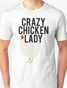 Crazy Chicken Lady T-Shirt