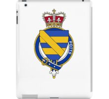 Coat of arms (family crest) for last-name or surname Potts (England) . Heraldry banner for your name. iPad Case/Skin