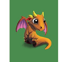 Little Baby Dragon Photographic Print