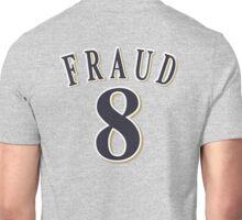 8 FRAUD Grey Unisex T-Shirt
