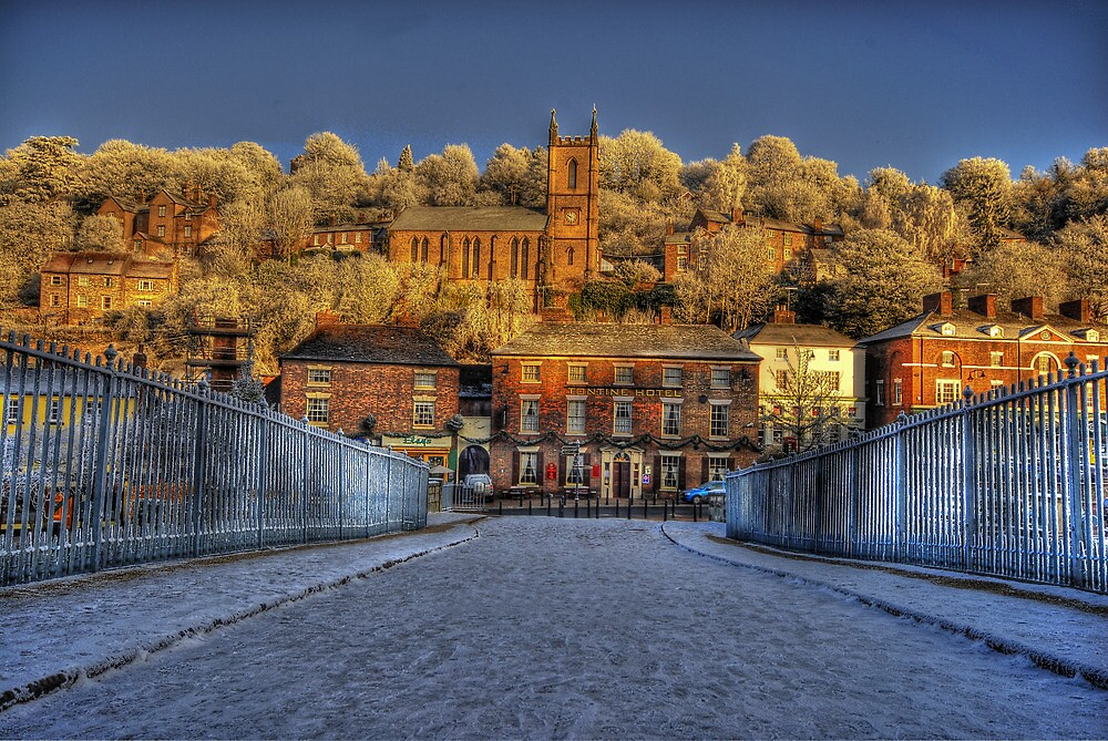 ironbridge church  by stephen  barber