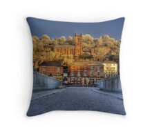 ironbridge church  Throw Pillow