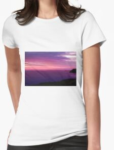 Landscape 5 Womens Fitted T-Shirt