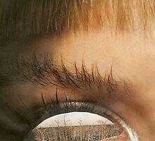 extreme eye by Della  Badart