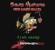 Squid Hunters NSW & Fish Candy T-Shirt