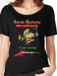 Squid Hunters NSW & Fish Candy Women's Relaxed Fit T-Shirt