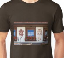Window and Cuckoo Clocks Unisex T-Shirt