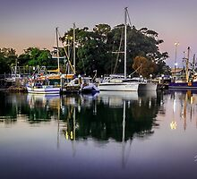 Water Reflections by StuCrawford