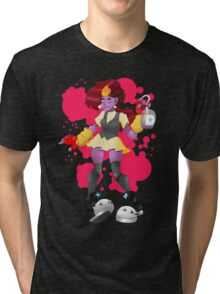 Pink Blood  Tri-blend T-Shirt