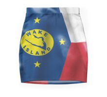 Wake Island Flag Pencil Skirt