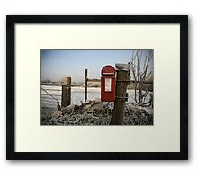 The Postbox Framed Print