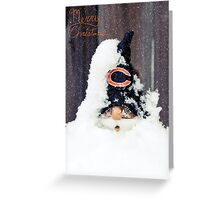 Chicago Bears Gnome Greeting Card