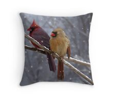 Morning Song Throw Pillow