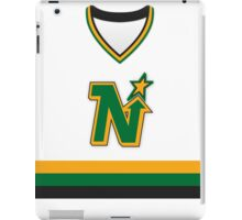 Minnesota North Stars Home Jersey iPad Case/Skin