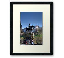 Royal Scots Greys Framed Print