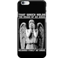 The image of an angel. iPhone Case/Skin