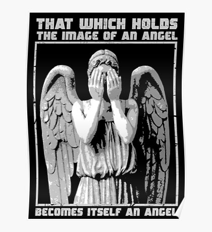 The image of an angel. Poster