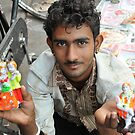 Young street vendor, Jaipur, India by Catherine Ames