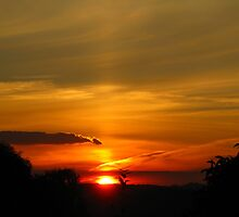 Sunset out West by Marilyn Harris