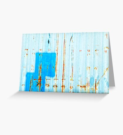 Azzurro - Blue Greeting Card