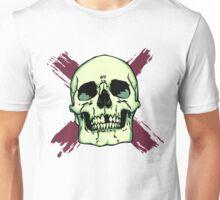 Skull n' Brush Strokes Unisex T-Shirt