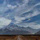 Nature's Epic Tale, the Road to Aoraki by Peter Kurdulija